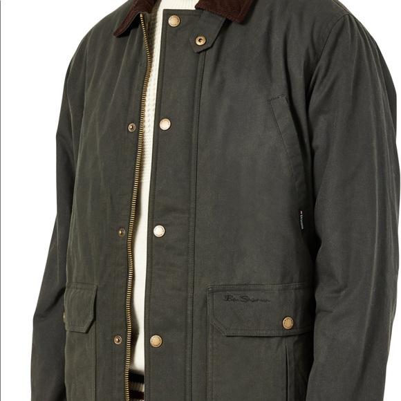 Men's Ben Sherman Cotton Coated Jacket